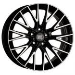 Цвет Gloss Black Polished - литые диски 1000 MIGLIA MM1009