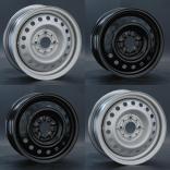 Модель дисков AR166 - купить штампованные диски